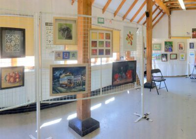 The barn exhibition