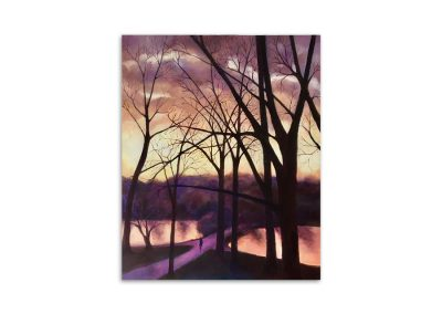 Carol Curtis - Winter Sunset