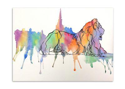 Dolores Kitchener - Landseer Lion