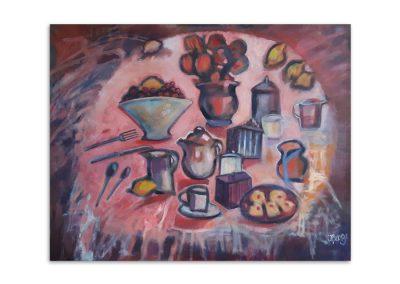 Janet Benge - Teatime in Pink