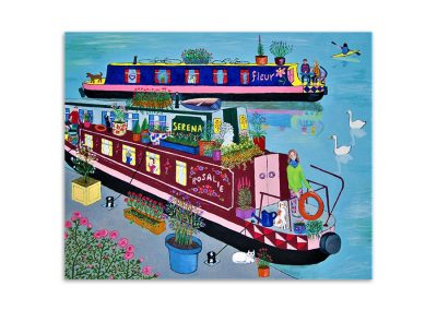 Mary Horsfield - Narrow Boats