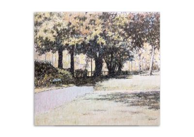 Peter Brown - Hilly Fields from Phipps Hatch Lane