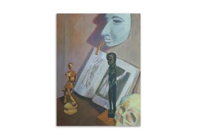 Roger Blows - Still Life with Mask