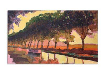 Sue Loder - Canal du Midi
