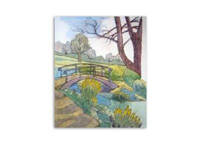 Sylvia Brown - Town Park Bridge