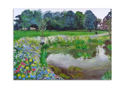 Jacqueline Bartle - Summer in Enfield Town Park