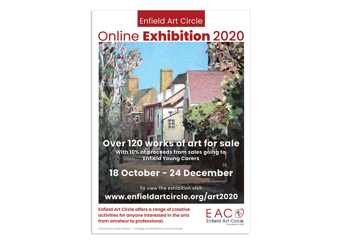 EAC 2020 art exhibition poster